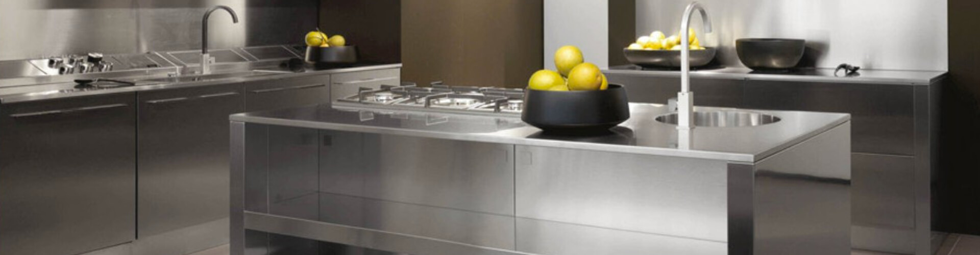 Dominox encimeras de cocina de acero inoxidable - Encimeras de acero ...