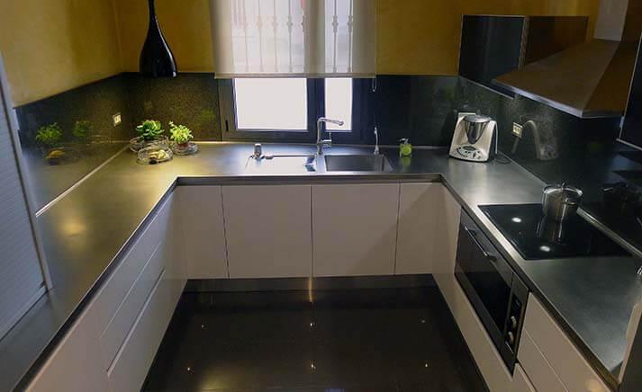 Dominox encimera de cocina de acero inoxidable en - Precios encimeras de cocina ...