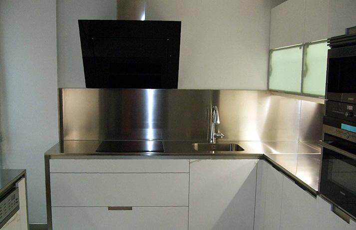 Dominox encimera de cocina de acero inoxidable en Articulos de cocina de acero inoxidable