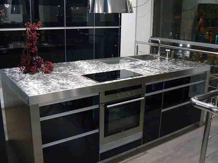 Dominox encimera de cocina en acero pixie - Encimeras de acero ...