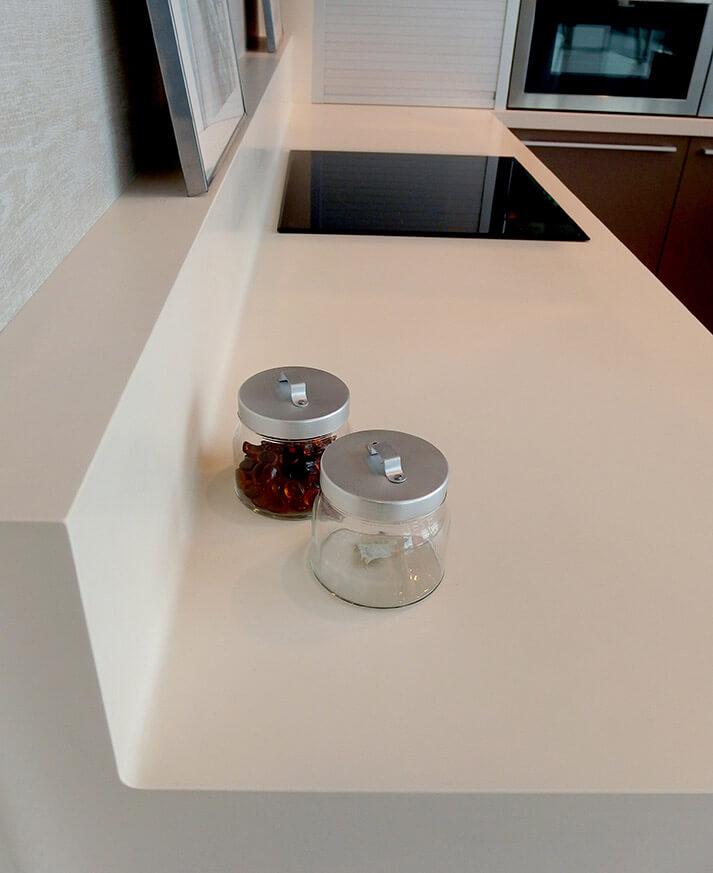 encimeras de cocina de madera krion