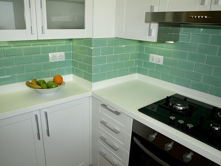 Encimeras de cocina de krion