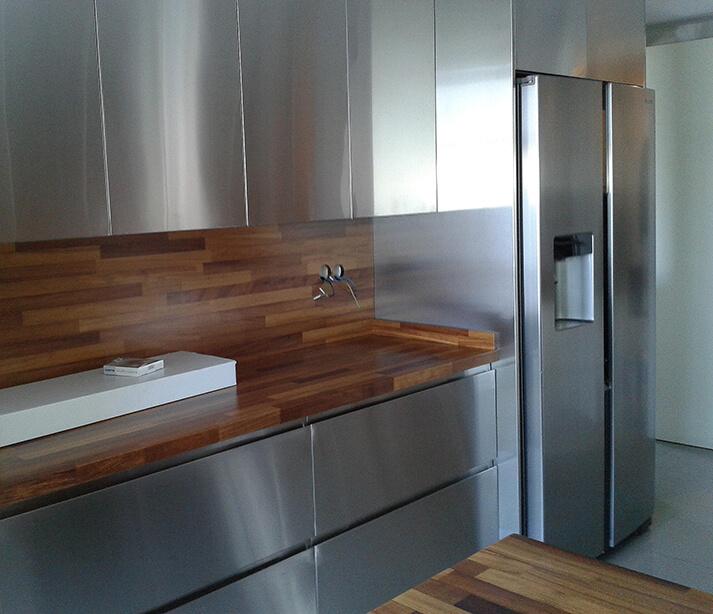 Dominox encimera de cocina de madera 1 - Encimera de madera para cocina ...